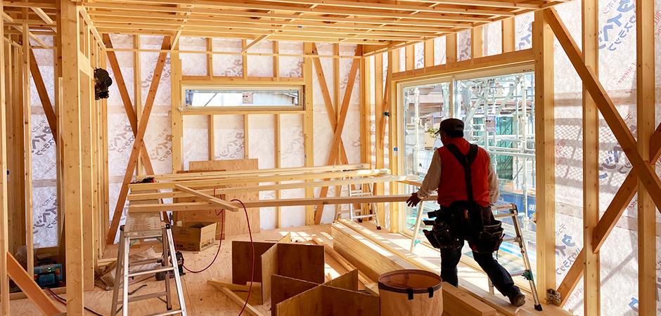 耐久性に優れた工法「木造軸組工法」で安心な住宅設計