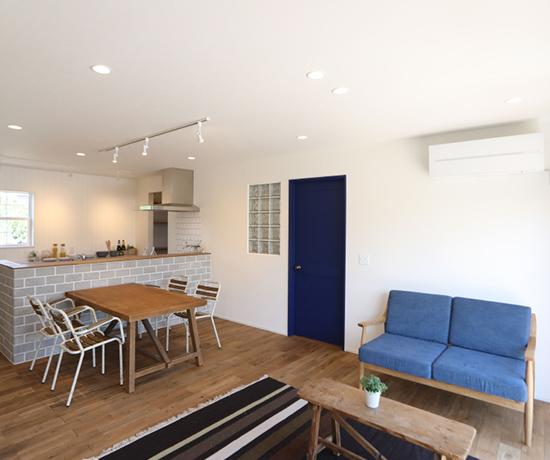 モデルハウスで実際の暮らし・住み心地を体感できる