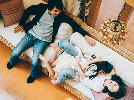 住宅の性能にかかる保証「わが家の保険」付き