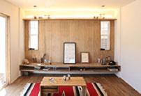 懐かしくも新しい平屋の誕生「FLAT HOUSE」