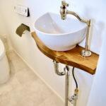 M様邸手洗い器