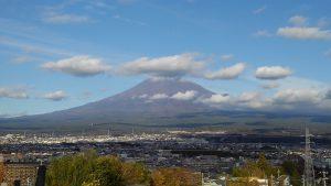 日本一の富士山:今田