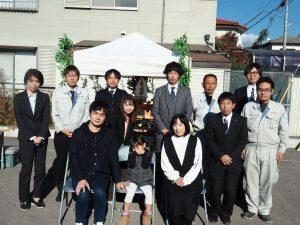 祝富士市S様邸地鎮祭:秋山