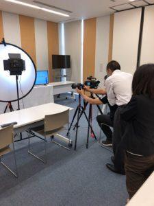 静岡の企業紹介の動画撮影