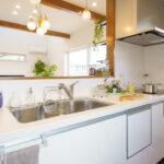 ナチュラルカフェ風の家キッチン